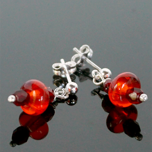 Alicia Niles Earrings Edana Glass Bead Post JE3335