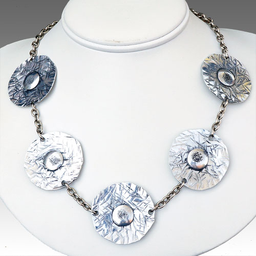 Allure Necklace 5 Discs JN1483