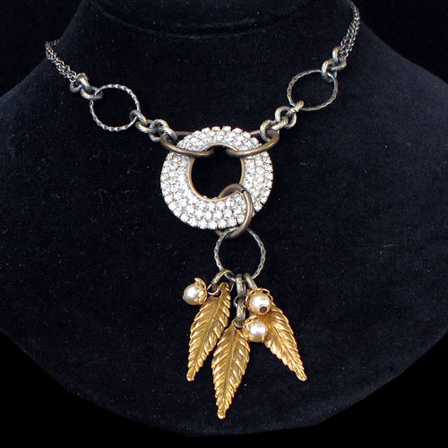 Angel Big Bling Necklace RJN410