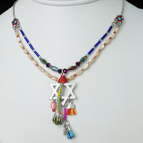 Ayala Bar Star of David Necklace JN1645 SOLD