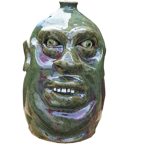 Marvin Bailey Face Jug DP1342