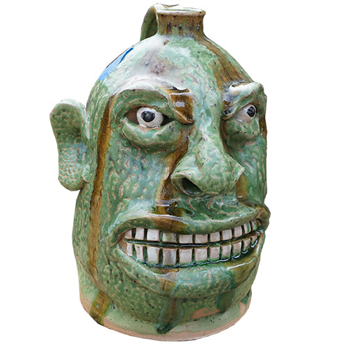 Marvin Bailey Face Jug DP1343