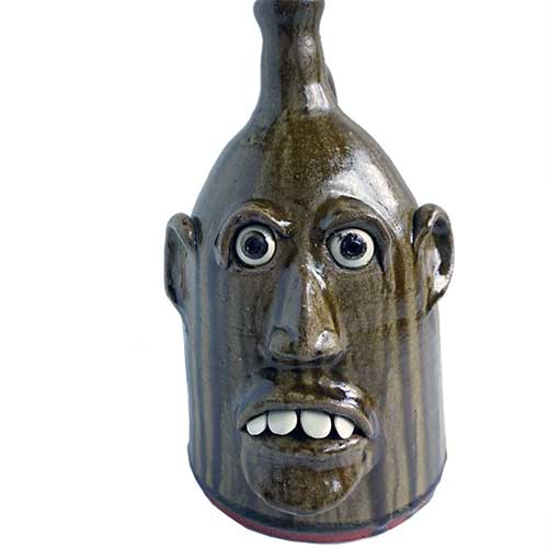 "Billy Joe Craven 14"" Face Jug DP1648"