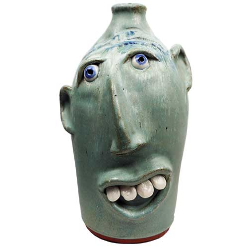 "Billy Joe Craven 12"" Face Jug DP1857"