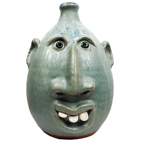 "Billy Joe Craven 11"" Face Jug DP1858"