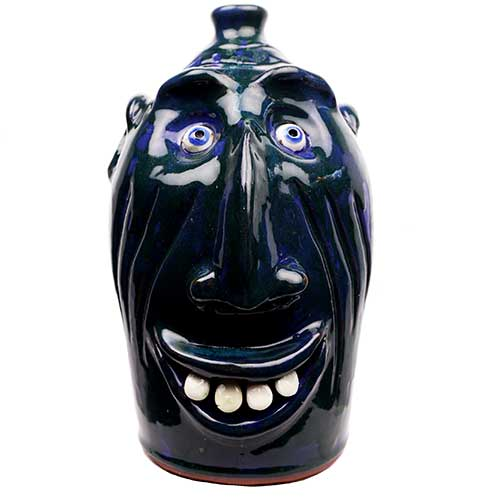 "Billy Joe Craven 13"" Face Jug DP1863"