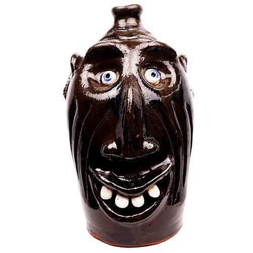 "Billy Joe Craven 13"" Face Jug DP1864"