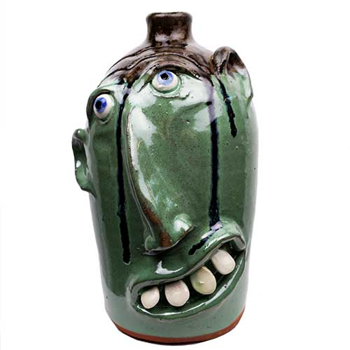 "Billy Joe Craven 11"" Face Jug DP1865"