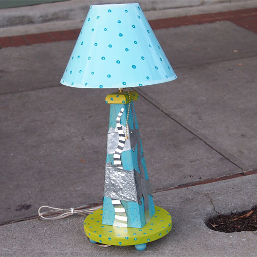 Carey Fish Lamp FL328