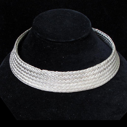 Cavender Necklace Woven Neck Band JN606 SOLD