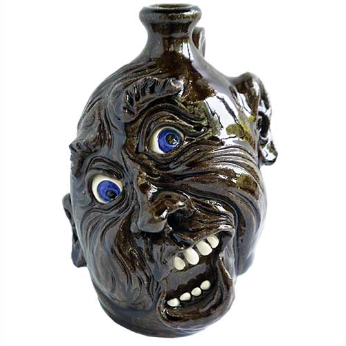 "Dwayne Crocker Face Jug 9"" DP1677"