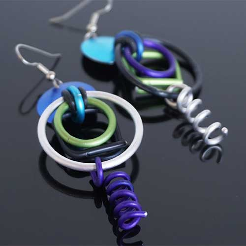 Eclat Hoops & Springs Earrings JE3899