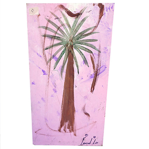 Ernest Lee 18x33 Palmetto Tree Panel OP486