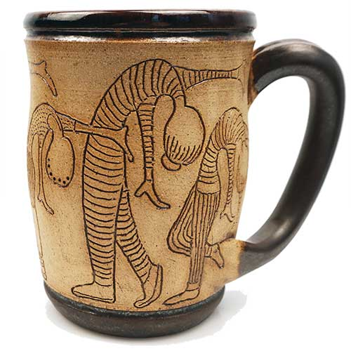 Eugene Etched Mug Bending Backwards DP2257