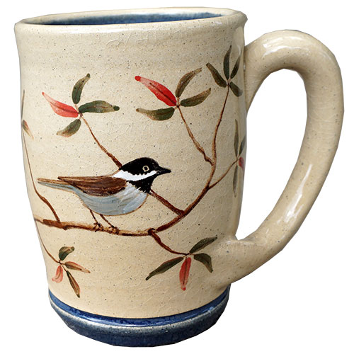 Eugene Painted Mug Bird Blue DP1529