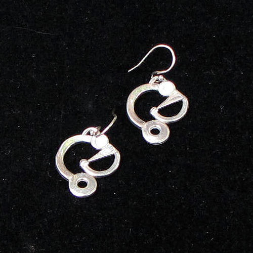 Evinger Quiet Circles Earrings JE666