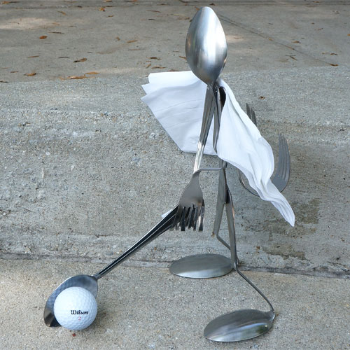 Spoon Napkin holder Golfer RD1168