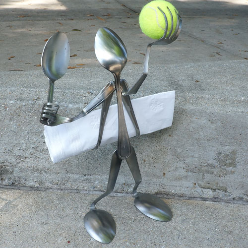 Spoon Napkin Holder Tennis RD1173