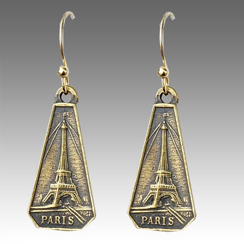 French Kande Eiffel Tower Earrings JE2634