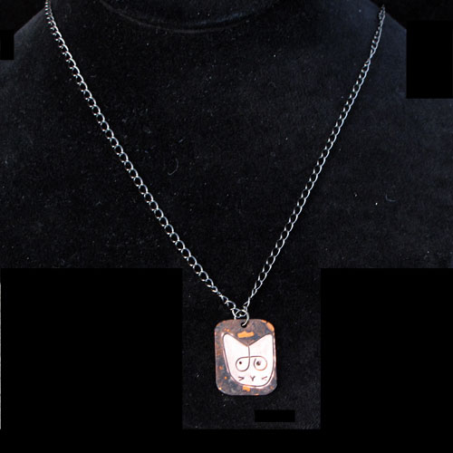 Gina's Cat Charm Necklace JN985