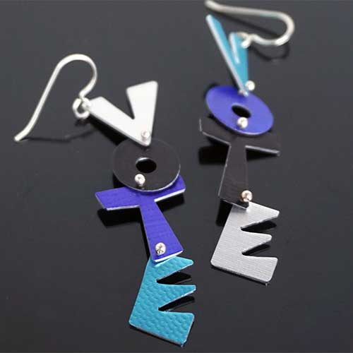 Hsu VOTE Earrings JE3884 SOLD