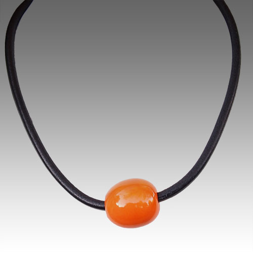 Henriot Isis Orange Necklace JN1391