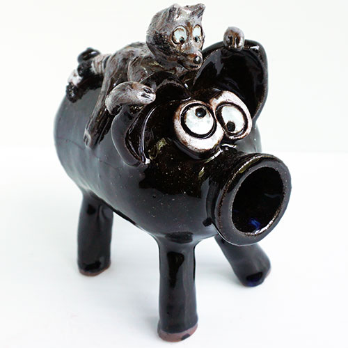 Jamie Ferguson Coon on a Pig DP1582