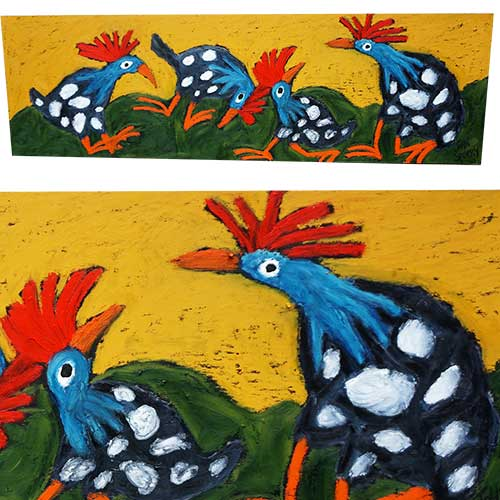 John Sperry 36x11 Guinea Dance WP1449 SOLD