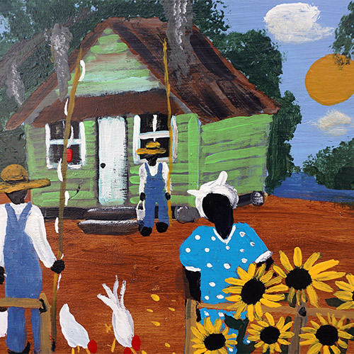 "Johnnie Griner ""Grandma's Sunflowers"" OP382 SOLD"