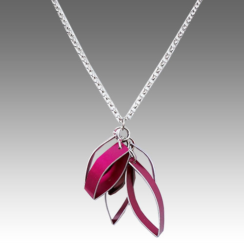 Jon Klar Necklace Anodized Aluminum JN1668 SOLD
