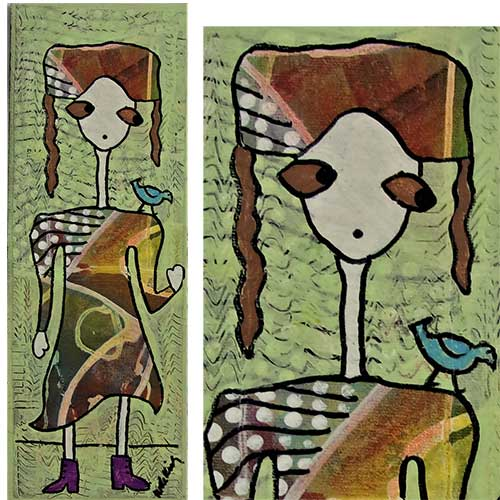 "Jude Kirby ""Lucy with Boots"" OP552 DS"
