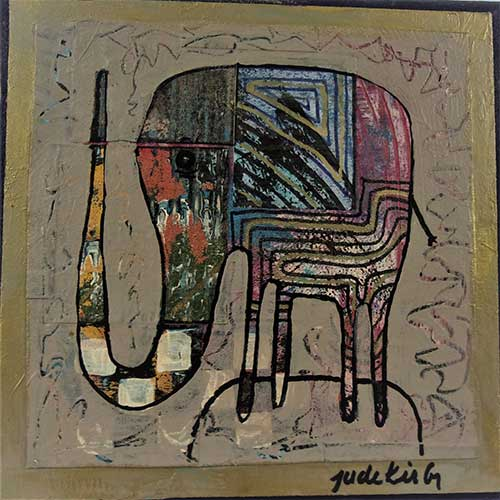 "Jude Kirby ""Party Elephant"" OP553 DS"