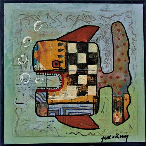 "Jude Kirby ""Square Fish"" OP555 DS"