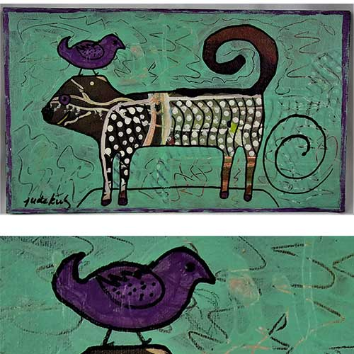 "Jude Kirby ""Bird Perch"" OP558 DS"