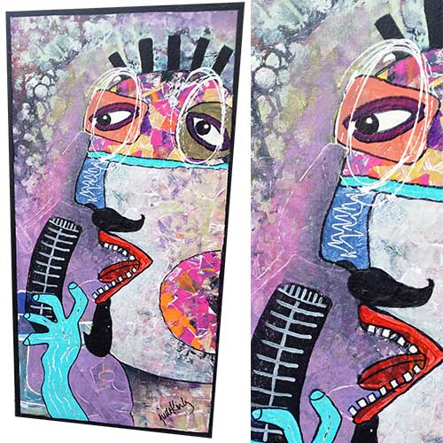"Jude Kirby ""Henri the Blues Singer"" OP560"