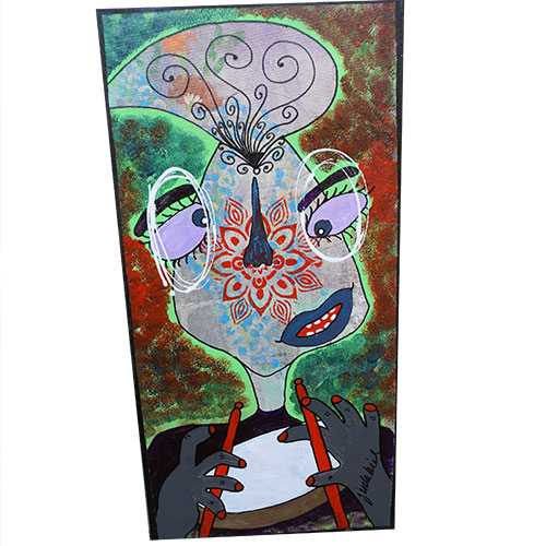 "Jude Kirby ""Margaux"" on Drums OP563"