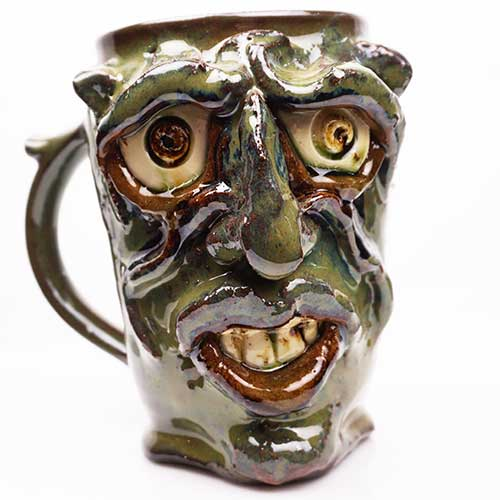 Kate Krause Face Mug CDP2116