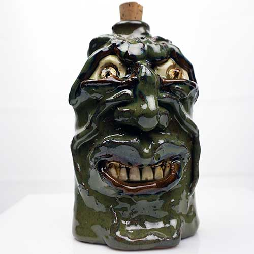 "Kate Krause 6.5"" Face Flask CDP2126"