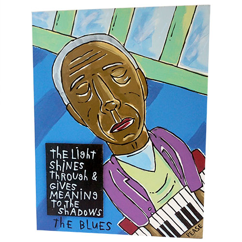 Ken Pease The Blues 18x23 WP1230