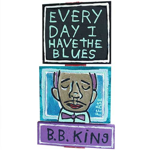 Ken Pease BB King Every Day 7x15 WP1231