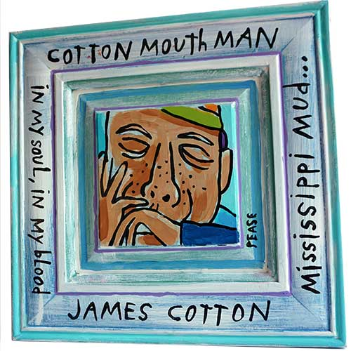 Ken Pease Cotton Mouth 14x14 WP1233