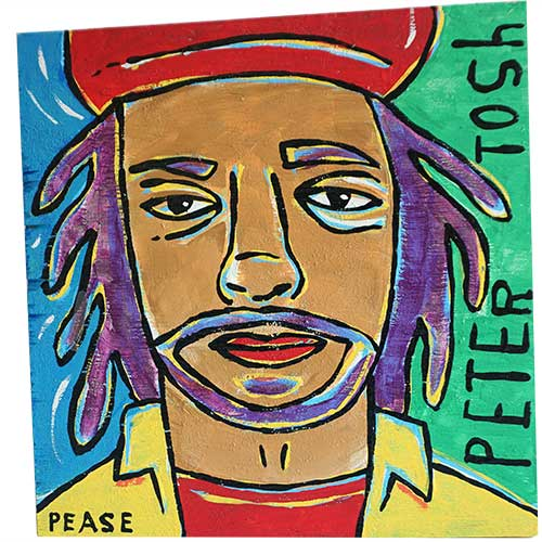 Ken Pease Peter Tosh 12x12 WP1237