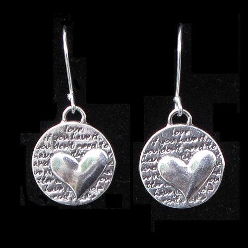 Kevin Quotation Jewelry - Heart JE878