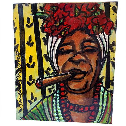 Kimberly Dawn 12x14 Cigar Lady WP1191