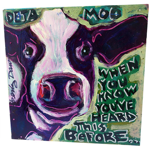Kimberly Dawn 12x12 Deja Moo WP1193