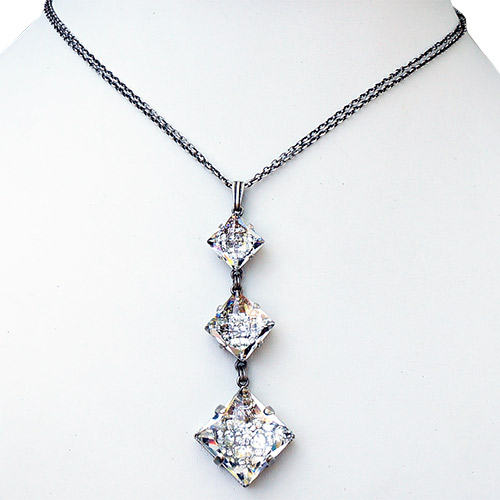 Konplott Necklace Iceburg Triple Drop JN2121