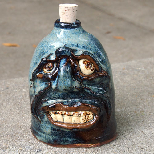 Krause Ugly Face Flask CP355
