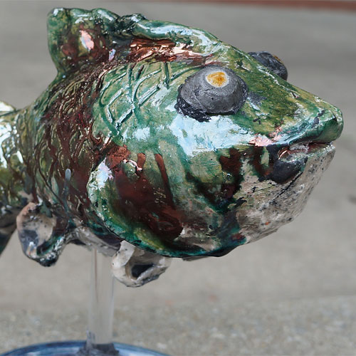 Krause Raku Fish CP446
