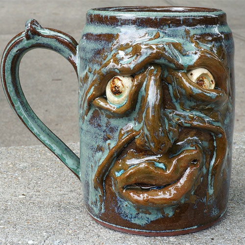 Krause Ugly Face Mug CP448 SOLD