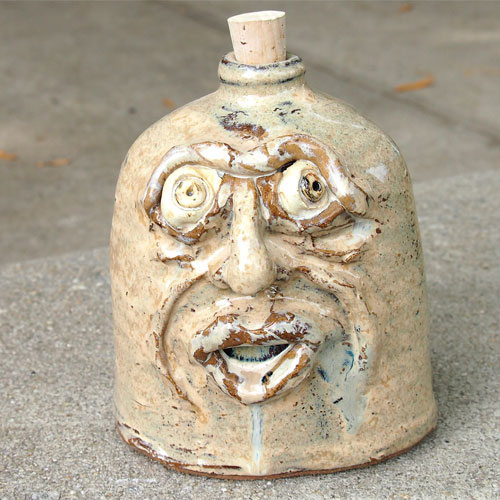 Krause Ugly Face Flask CP492